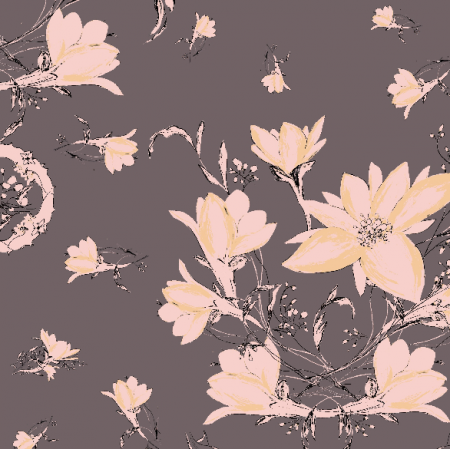 24108 | decorative floral pattern - series 3