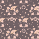 Fabric 24108 | decorative floral pattern - series 3