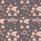 Tkanina 24108 | decorative floral pattern - series 3