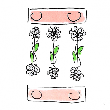 Tkanina 24188 | bloom