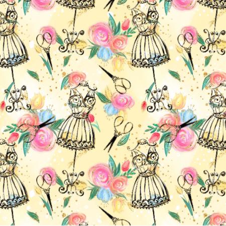 Fabric 24218 | KRAWIECKI 9