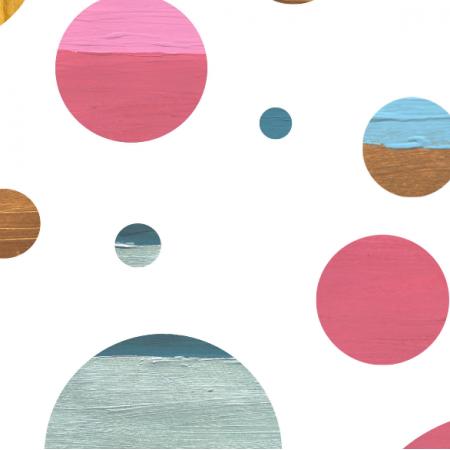 Fabric 24226 | Kolorowe koła