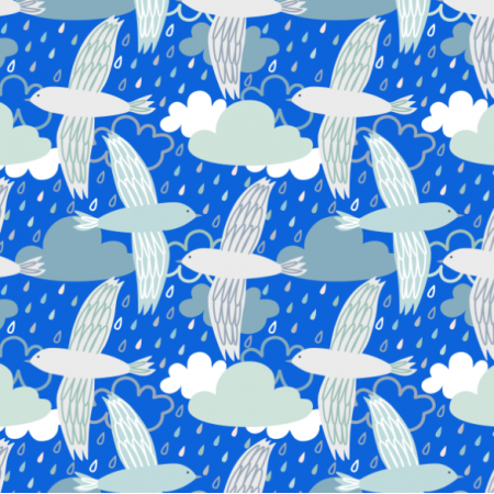 Fabric 24268 | Birds