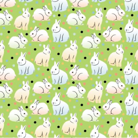 Fabric 24269 | Rabbits