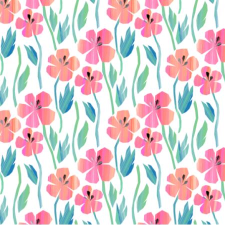 Tkanina 24289 | Wild flowers