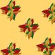 Fabric 24295 | bouquet of leaves