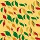 Fabric 24296 | leaves