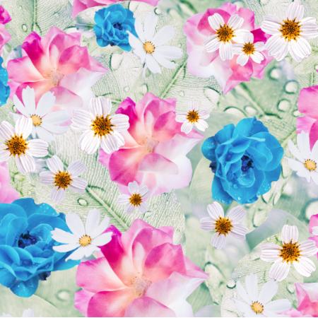 24410 | Pink meadow