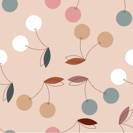 Fabric 24605 | Cherry