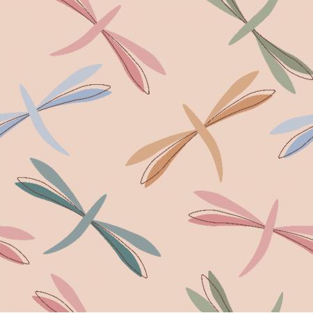 Fabric 24606 | Dragonfly