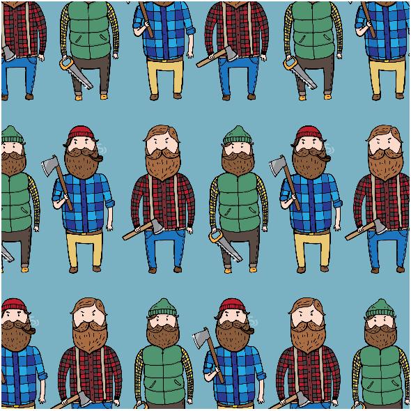 Tkanina 2608 | Lumberjacks