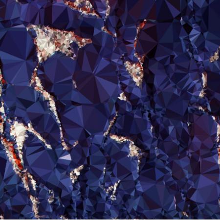 Fabric 24713 | BLUE BARK
