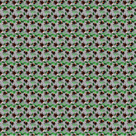 Fabric 24760 | Trzmiele