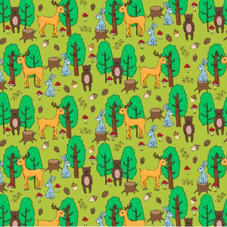 Tkanina 2618 | forest
