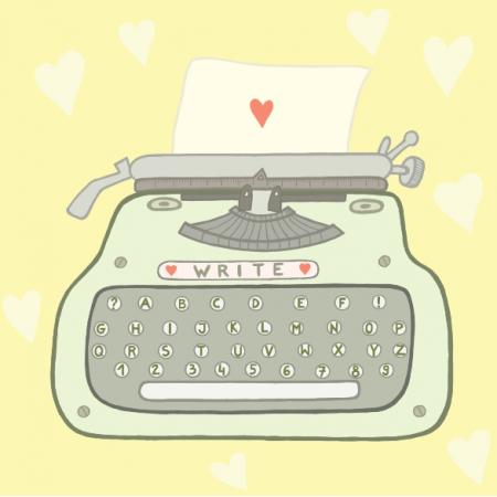 Fabric 24853 | Maszyna do pisania