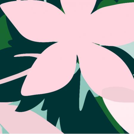 Fabric 24884 | Big Flowers