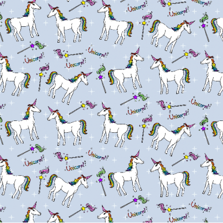 Tkanina 2631 | unicorns