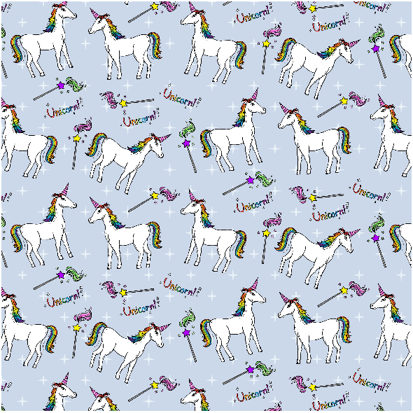Fabric 2631 | unicorns