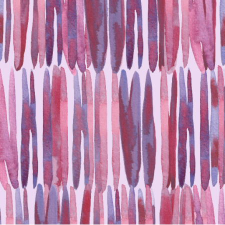 Tkanina 24991 | Watercolor pink and purple lines pattern