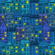 Tkanina 2638 | night town
