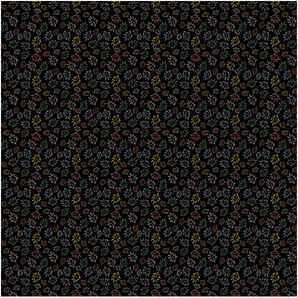 Fabric 25008 | kolorowe liście