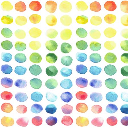 Fabric 25079   Rainbow drops 2