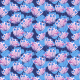 Fabric 25084 | crazy colorful flowers