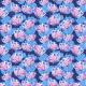 Tkanina 25084 | crazy colorful flowers