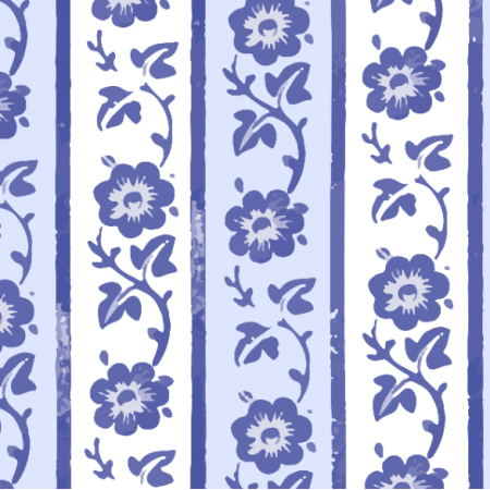 Fabric 25135 | vertical floral pattern