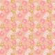 Fabric 25137   Akrylowe kwiaty na Różowym tle