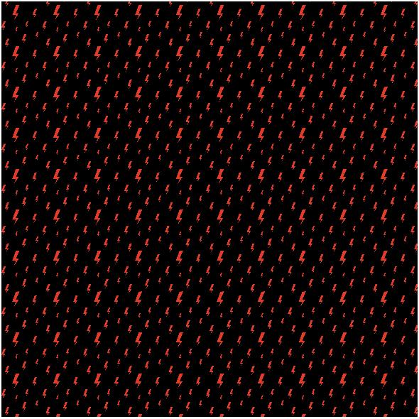 Fabric 25162 | Strajk kobiet Czerwona Błyskawica na czarnym tle