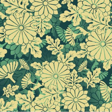 Fabric 25170   Yellow flowers
