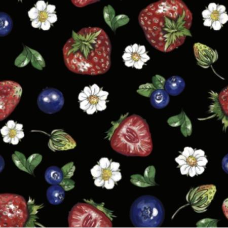 Fabric 25203 | Frutti di bosco 2
