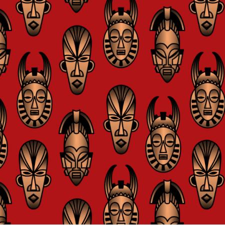 25230 | African masks
