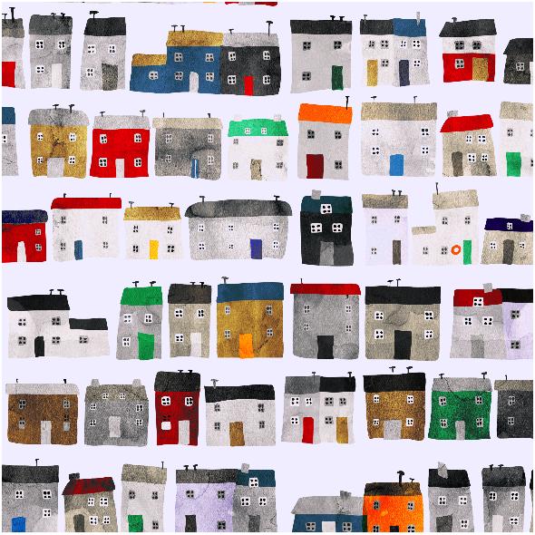 Fabric 2663 | VILLAGE