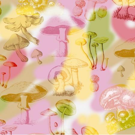 Fabric 25267 | PSYCHODELICZNE GRZYBKI
