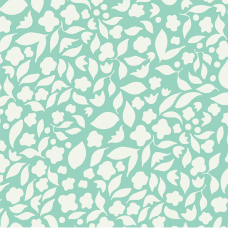 Fabric 25389 | Aboundance of life mint