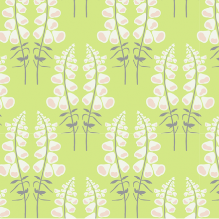 Fabric 25393 | Foxgloves sunrise