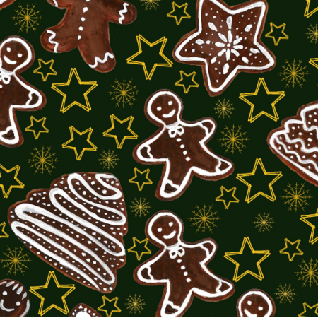 Fabric 25403 | Gingerbreads