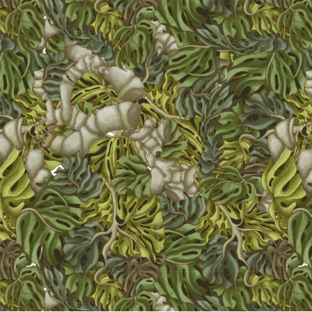 Fabric 25406 | Monstera