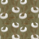 Fabric 25439 | Monstera's Hare 2 green