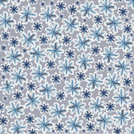 Fabric 25445   Christmas/snow 3