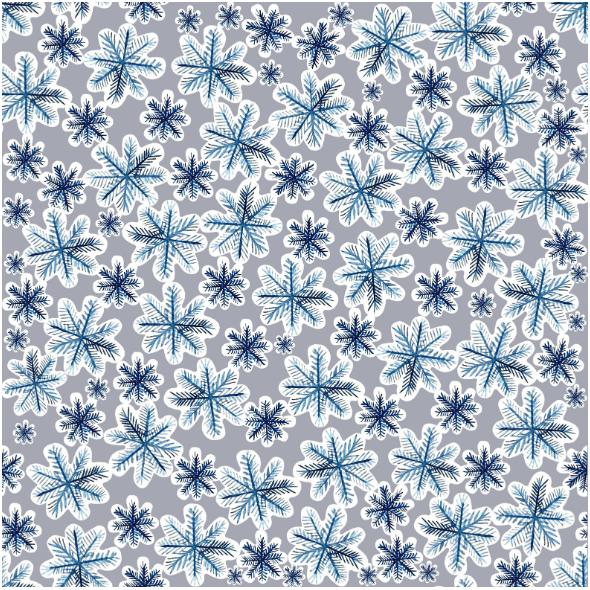 Fabric 25445 | Christmas/snow 3