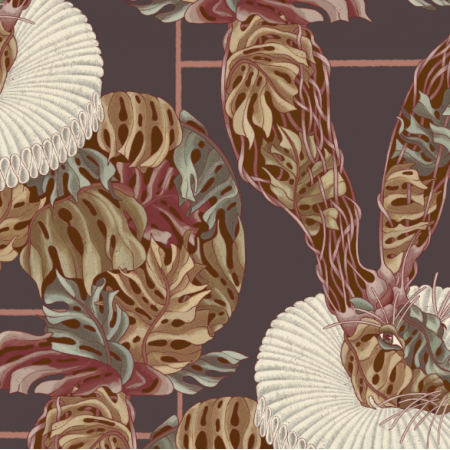 25450 | Monstera's Hare 3 purple