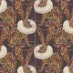 Tkanina 25450 | Monstera's Hare 3 purple