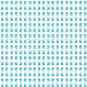 Fabric 25541 | Dragon white turquoise pattern 1