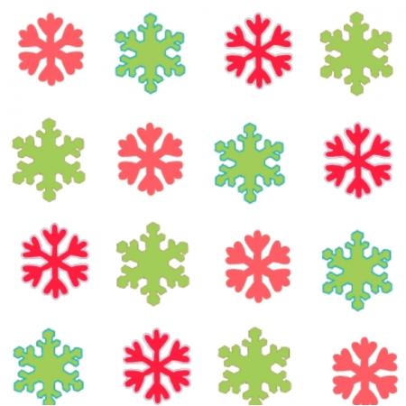 Fabric 25665 | Świąteczne śnieżynki