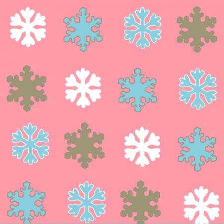 Fabric 25666 | Śnieżynki