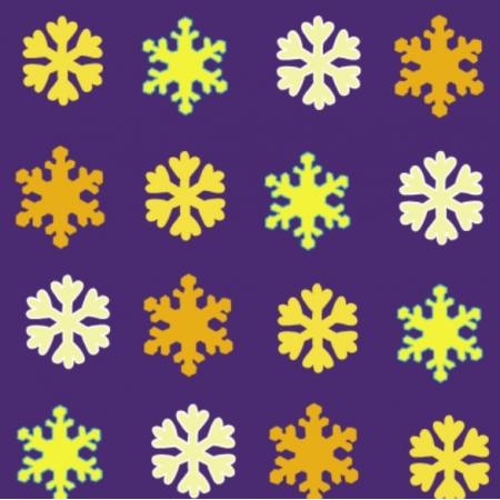 Fabric 25667 | Śnieżynki
