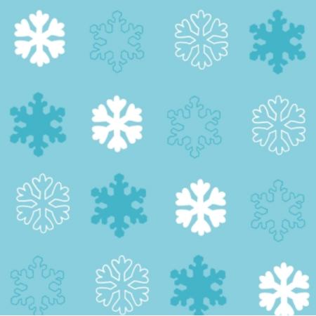 Fabric 25670 | Zimowe śnieżynki